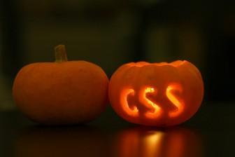 CSS Carved Pumpkin