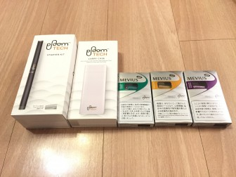 PloomTECHは、3月1日よりJTが発売した「電子たばこに近い商品」になります。ですのでタバコの葉を加熱する様な物では無く、液体を気化した「たばこベイパー(Tobacco