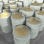 bitcoins piles