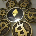 Bitcoin Keychains with Ethereum Collectible Coin IMG_2380
